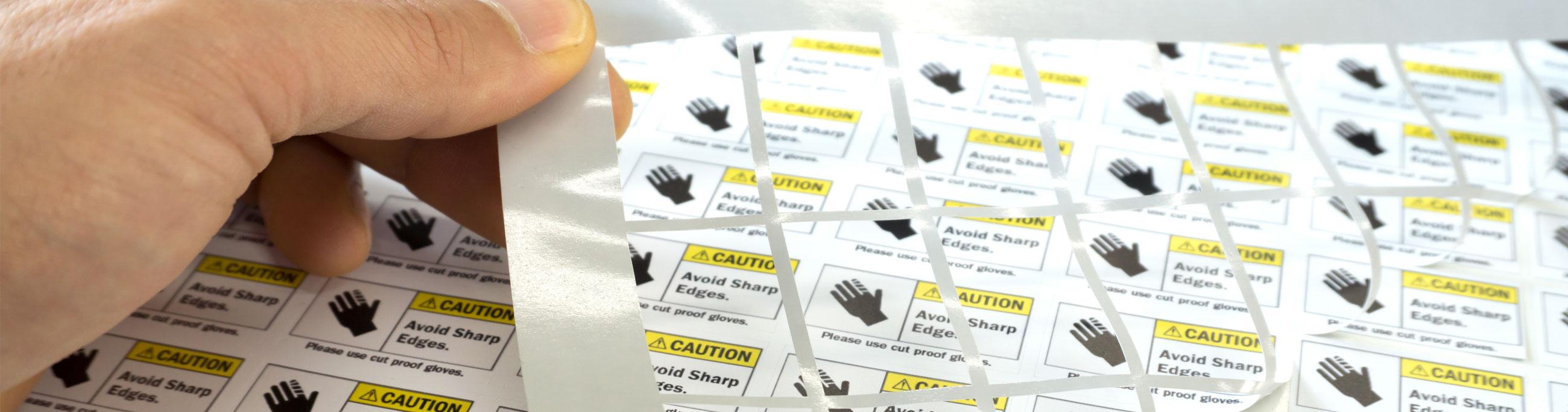 Etichette e grafiche adesive
